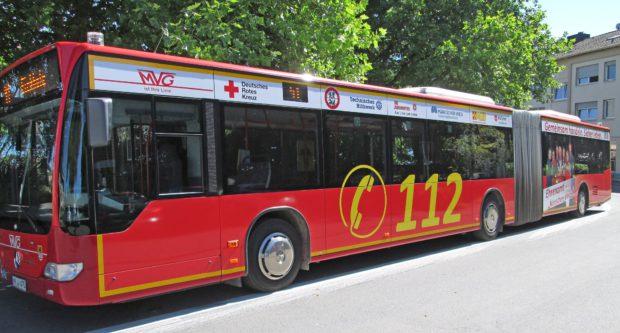 Der Rettungsbus MK. Foto: Jens Piepenstock/MVG